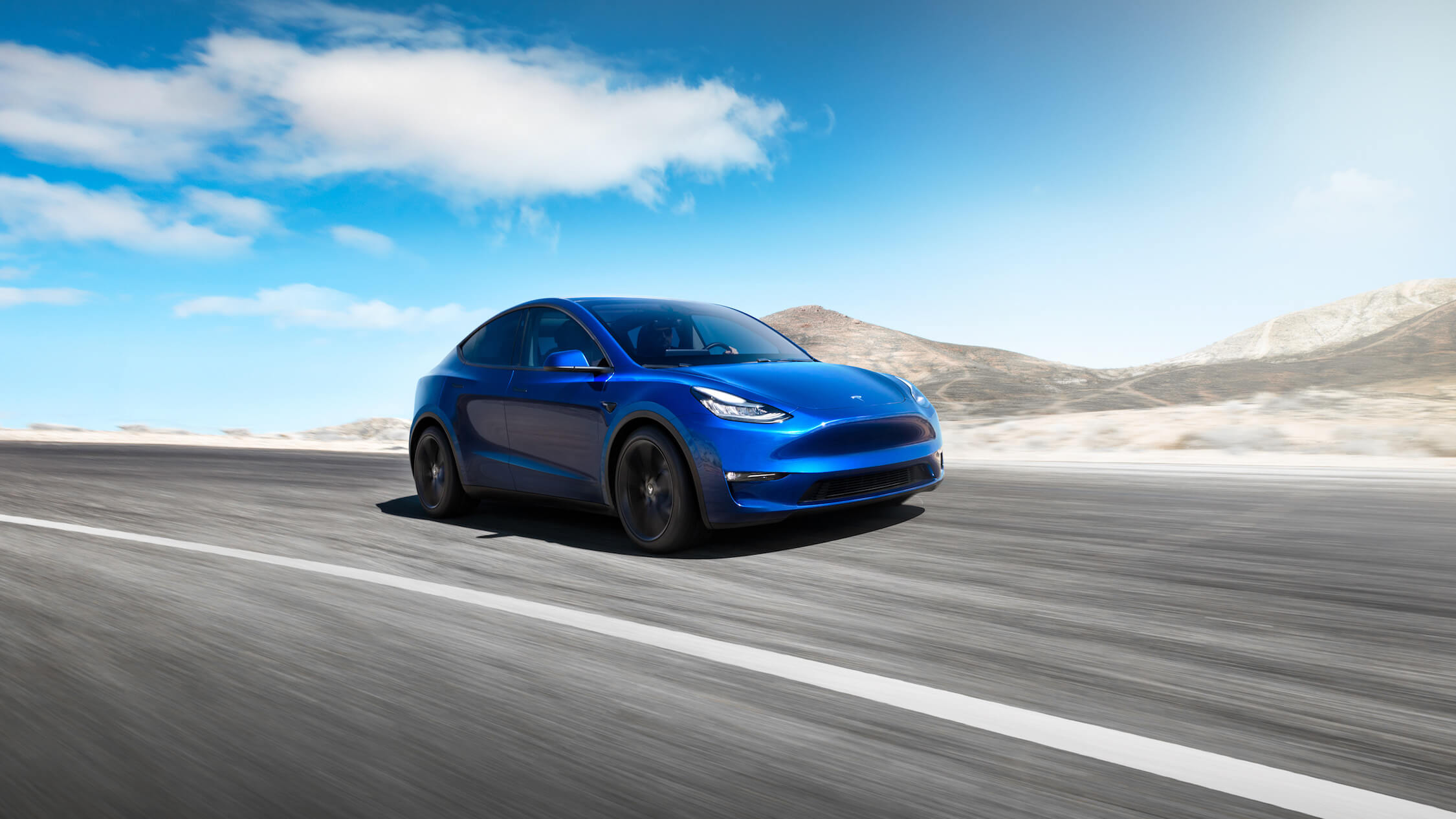 Tesla Model Y electric car China