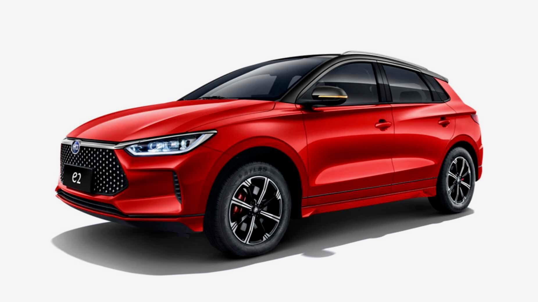 BYD e2 red